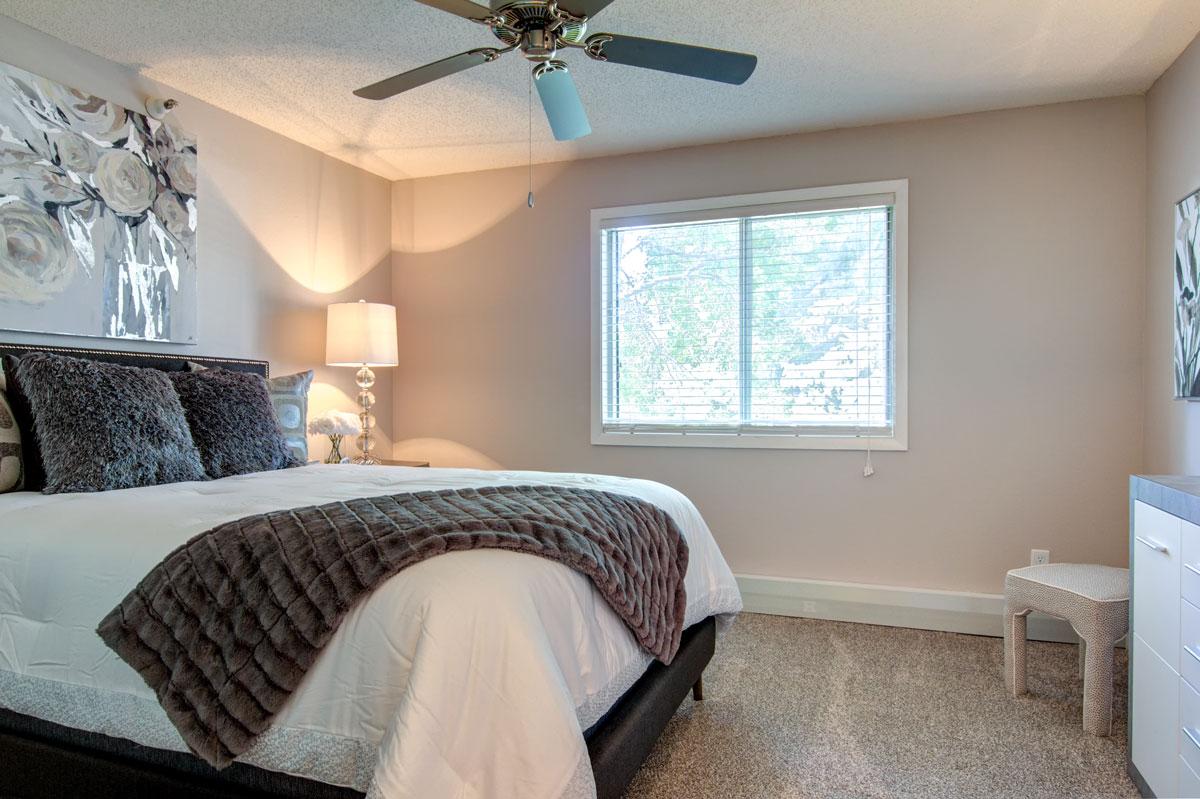 Colonial Estates bedroom.